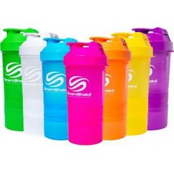 Smart Shake Slim Neon 500ml 500ml černý GUNSMOKE BLACK