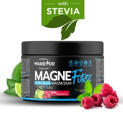 MagneForce Drink - Magnesium chelát + B6 300g Lime and Raspberry