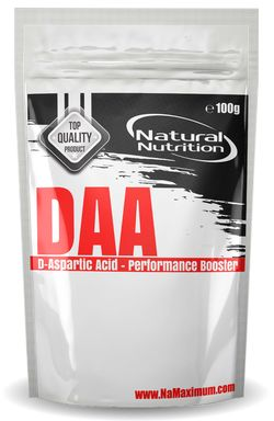 DAA - D-Aspartic Acid Natural 400g
