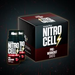 NitroCell Shot Pre-Workout 60ml Raspberry