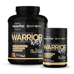 The Warrior Whey Protein Rocky Road 350g