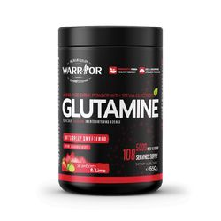 Warrior Glutamine with Stevia Strawberry and Lime 650g