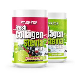 Fresh Collagen Stevia Drink Mixed Berry and Lime 350g