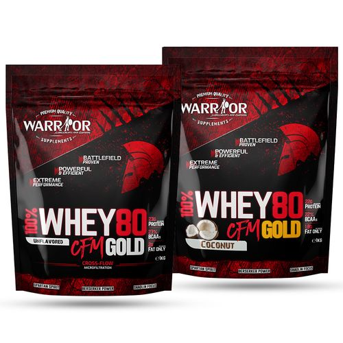 Whey WPC80 CFM Gold 1kg Strawberry Sweet