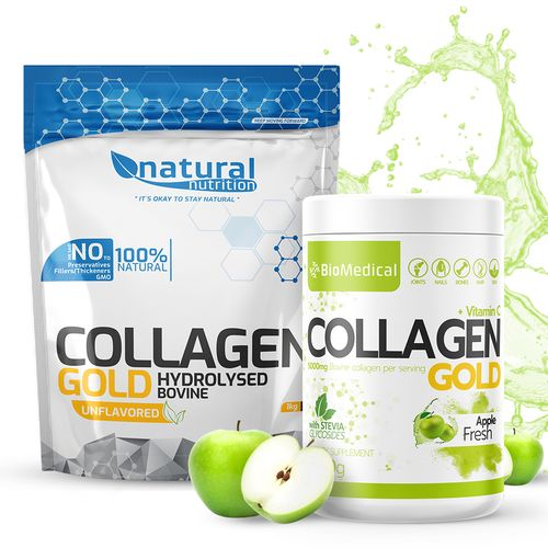 Collagen Gold - Hydrolyzovaný kolagen Natural 400g