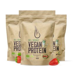 Vegan Protein - Bio Organic 400g Strawberry